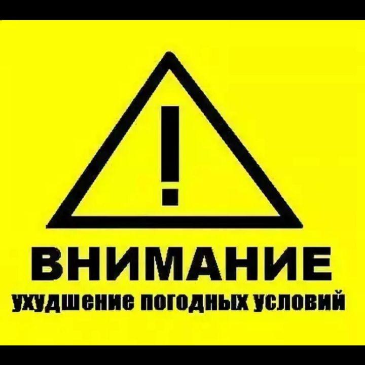 28 января месяца по Татарстану ожидаются сильный порывистый ветер имороз